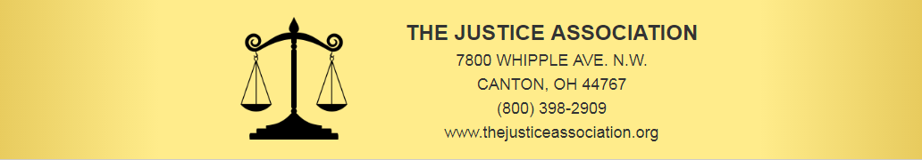 The Justice Association Logo